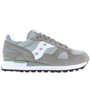 Saucony Shadow Original   Grey/white Suede/nylon Sneaker