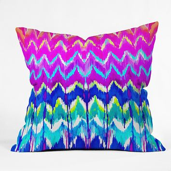 Holly Sharpe Summer Dreaming Throw Pillow