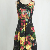 Vintage Inspired Long Sleeveless