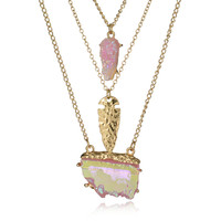 Stylish New Arrival Gift Jewelry Shiny Vintage Pendant Korean Sweater Chain Accessory Necklace [8581966471]
