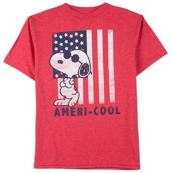 Snoopy Ameri-Cool Tee - Boys 8-20, Size: