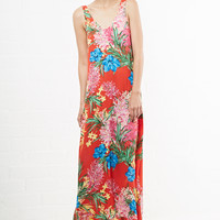 DailyLook: Show Me Your Mumu Kiersten Maxi Dress in Multi-colored S - L