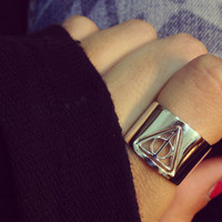 Harry Potter Silver Ring