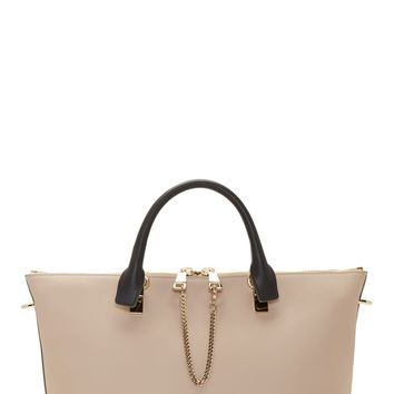 Chlo Beige Leather Baylee Medium Bag