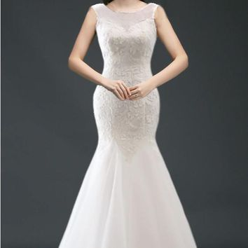 Aston Mermaid Wedding Dress