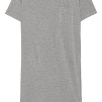 T by Alexander Wang - Classic jersey mini dress