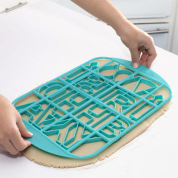 Birthday Multi-Cookie Cutter Grid
