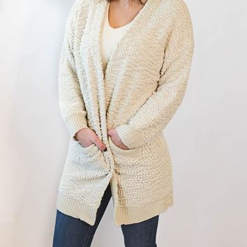 Alpaca Cardigan - Cream