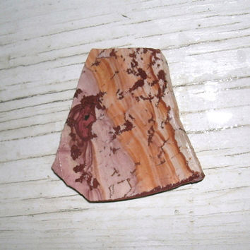 Dead Camel Jasper Slab,  cabbing, preforms, lapidary, jewelry supply, pink tones, orange, reds, brown, very unique and newer type of Jasper