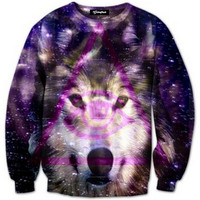 Third Eye Wolf Crewneck