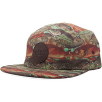 Neff Fishy Camper 5-Panel Hat Fishy, One