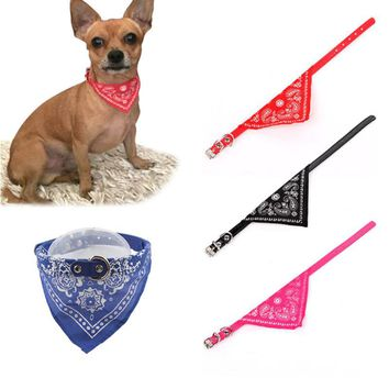 Adjustable Pet Collar for Dogs Puppy Scarf Dog collar Lovely Tie Necktie Bandana Quality Pet Cats Tie Accessories 50