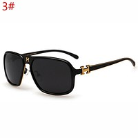 Hermes Trending Women Men Stylish Leisure Sun Shades Eyeglasses Glasses Sunglasses I12379-1