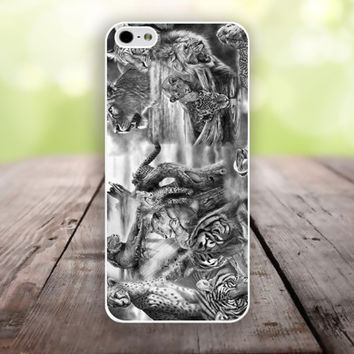 iphone 6 cover,tiger lion beast iphone 6 plus,Feather IPhone 4,4s case,color IPhone 5s,vivid IPhone 5c,IPhone 5 case Waterproof 752