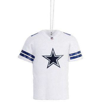 DCCK8X2 Dallas Cowboys NFL Resin Jersey Ornament