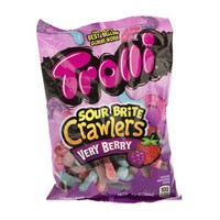Trolli Sour Brite Crawlers Very Berry Sour Gummy Candy, 7.2 Ounce Bag - Walmart.com