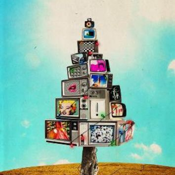 TV XMass Tree 118 x 166 Limited Edition by promopocket on Etsy