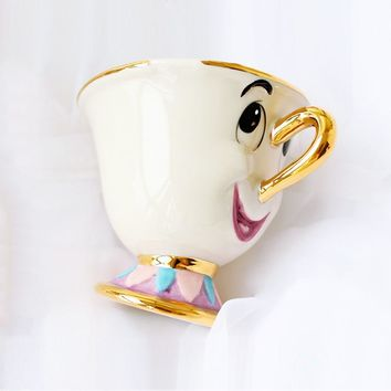 Hot Sale Beauty and the Beast Mrs Potts' son : Chip Cup Tea Set Coffee Cartoon Mug for friend Lover Gift