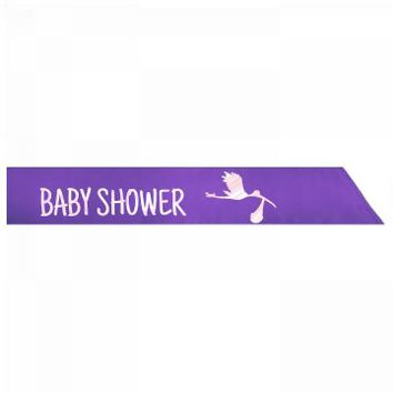 Baby Shower Silk Sash