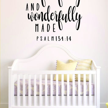 Best Bible Wall Quotes Products On Wanelo - Bible verse nursery wall decals