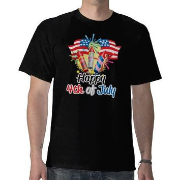 4th of July Fireworks T Shirts from Zazzle.com