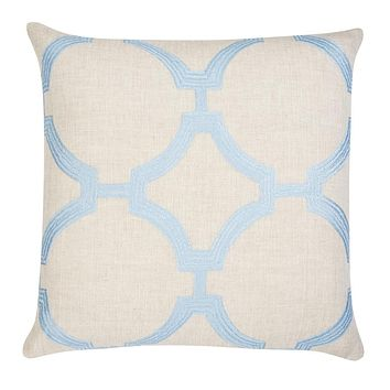 Reynolds Pillow - Powder Blue