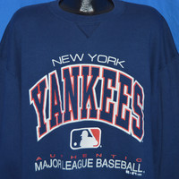 90s New York Yankees Baseball sweatshirt XXL