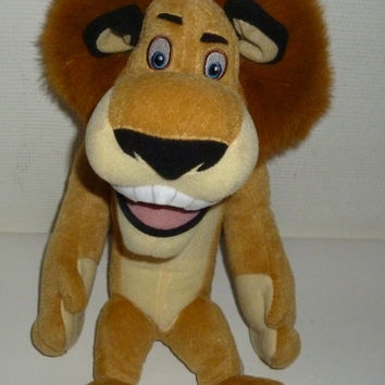 Madagascar Escape 2 Africa Alex The Lion Plush Animal