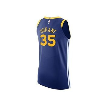 Original NBA Jerseys Number 35 Golden State Warriors Durant Icon Edition Authentic Men's Breathable Basketball Jerseys 863022