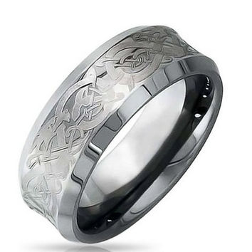 Shop Tungsten Carbide Wedding Bands On Wanelo