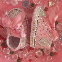 Baby Bling Newborn Infant Girl Jeweled Shoes Booties