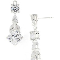 Women's Nina Cubic Zirconia Drop Earrings