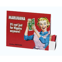 BlueQ Marijuana, Not Just for Hippies Anymore! Matches