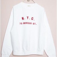 Jamie New York USA Embroidery Top
