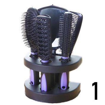 5pcs Professional Salon Barber Comb Brushes Anti-static Hairbrush Hair Care Styling Hair Salon Hair Comb And Mirror Kits