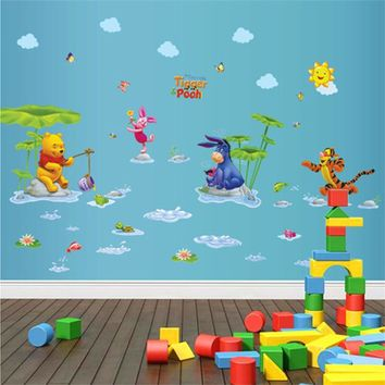Winnie the Pooh Wall Decal Stickers