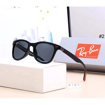 Ray-Ban 2019 new men and women drivers driving large frame polarized sunglasses #2