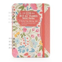 Studio Oh! 2016 Secret Garden Do It All 17-Month Planner