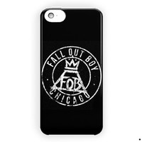 Fall Out Boy Logo Music Rock Band For iPhone 5 / 5S / 5C Case