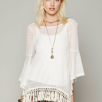 Free People Mimi Fringe Tunic