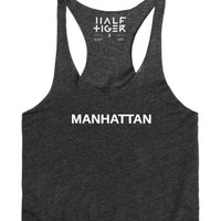 Manhattan 2-Female Heather Onyx Tank