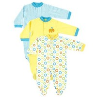 Snap Front Sleep N Play | Affordable Infant Clothing