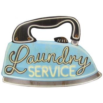 Laundry Service Iron Metal Sign | Hobby Lobby | 787556
