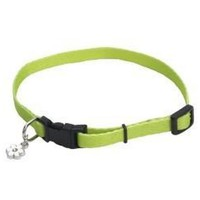 "Lil Pals Adjustable Nylon Toy Breed Collar 8"" Lime"