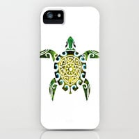 TRIBALESQUE TURTLE iPhone Case by Selam Workneh | Society6