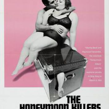 Honeymoon Killers movie poster Sign 8in x 12in