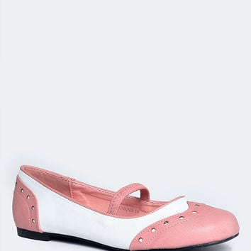 Retro Mary Jane Ballet Flats