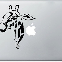 Giraffe DECAL macbook iPad computer Gadget Art / by EyvalDecal