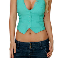 Win It (Mint)-Great Glam is the web's best online shop for trendy club styles, fashionable party dresses and dress wear, super hot clubbing clothing, stylish going out shirts, partying clothes, super cute and sexy club fashions, halter and tube tops, bell