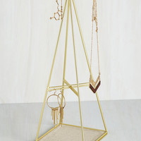 Boho Flair for the Prismatic Jewelry Stand by ModCloth